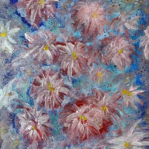 floral shimmer